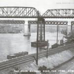 view of four bridges 1920